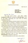 Wojewoda Małopolski gratulacje