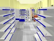 Sklep spożywczy- wizualizacja ABM 3