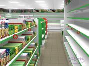 Sklep spożywczy  - wizualizacja ABM 2