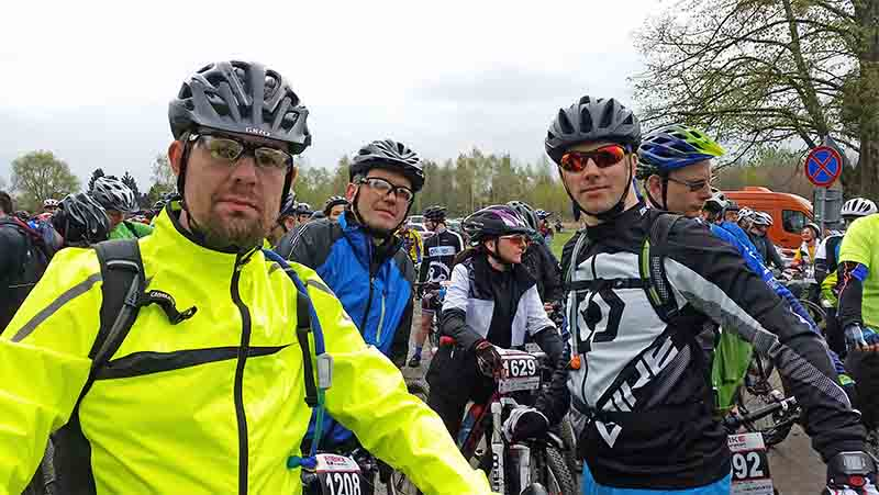 Bike maraton Miękinia 2017 - Team ABM