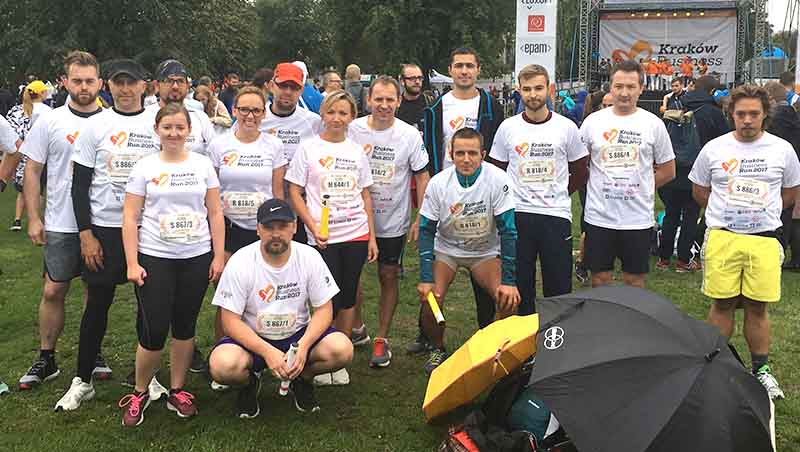 Businnes Run Kraków 2017- Team ABM