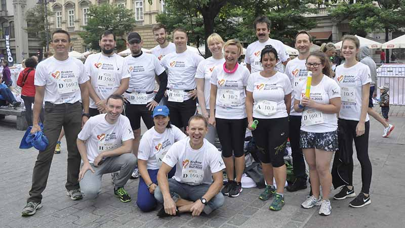 Businnes Run Kraków 2015- Team ABM