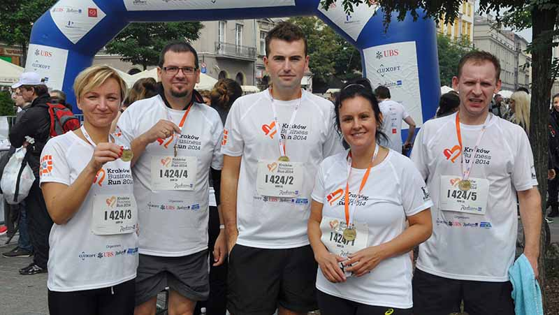 Businnes Run Kraków 2014- Team ABM