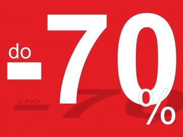 Stojaki przecenione nawet do 70%!