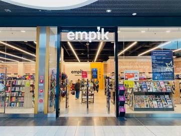 Wyposażenie księgarni – realizacja w Łomży
