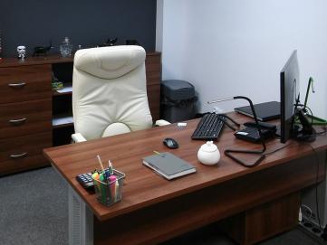 Wyposażenie biura dewelopera