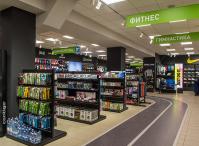 Ladeneinrichtung für Sportgeschäft in Kaliningrad