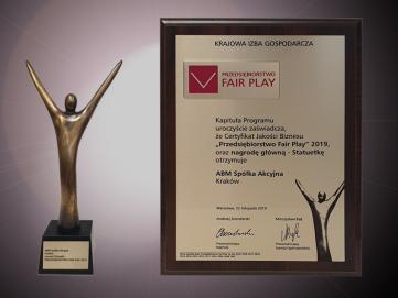 Nagroda główna FAIR PLAY 2019