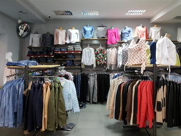 Bardzo dobra Wyposażenie sklepu odzieżowego    ABM EO47