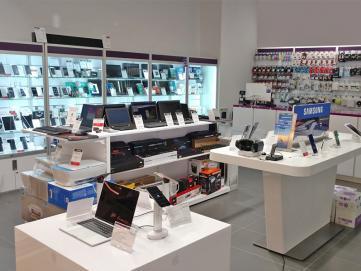 Wyposażenie sklepu komputerowego