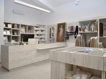 Shop furniture of own production