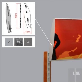 system-sklepowy-line-wspornik-panelu-oswietlenia-lewy