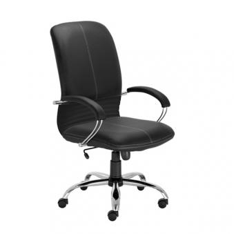 fotel gabinetowy czarny