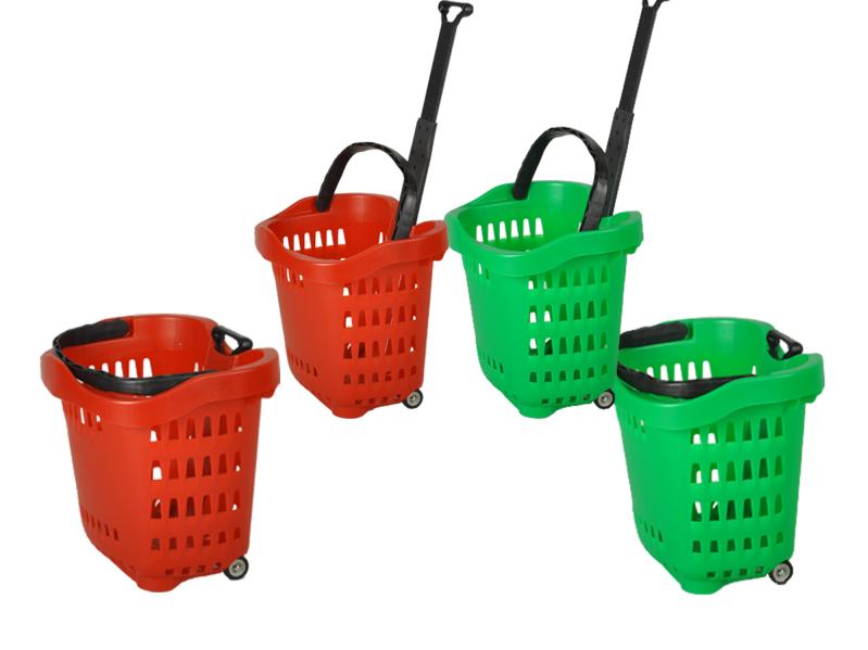 nowoczesne wózki sklepowe